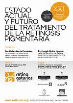 Cartel XXI Asamblea General Retina Asturias y II Jornadas Retina Asturias