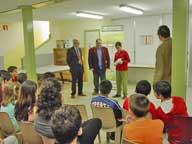 Entrega de premios Pintoretinosis 2007 con la colaboración del responsable en Asturias de la Obra Social de Cajamadrid.