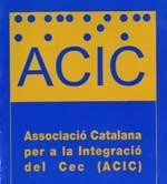 Logotipo de la Associació Catalana per a la Integració del Cec