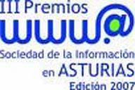 Logotipo de los II Premios Sociedad de la Informacion en Asturias
