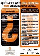 Protocolo de actuación ante una persona con discapacidad visual