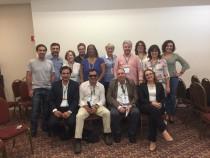 Representantes de retina iberoamerica en el segundo encuentro de Brasil