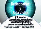 Retinopatias y baja visión en Cantabria. Logotipo del cartel