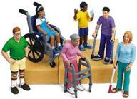 Personas con distintos tipos de discapacidades