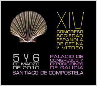 Cartel del catorceavo Congreso de la Sociedad Española de Retina y Vítreo