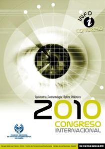 Cartel del Congreso Internacional de Optometría, Oftalmología y Óptica Optálmica