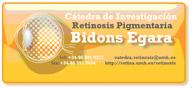 Logotipo de la Catedra Bidons Egara de Investigaciion en Retinosis pigmentaria