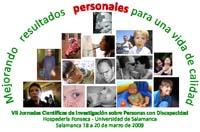 Logo Jornadas Científicas sobre personas y discapacidad