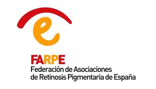 Logotipo de Federación de Asociaciones de Retinosis Pigmentaria de España.