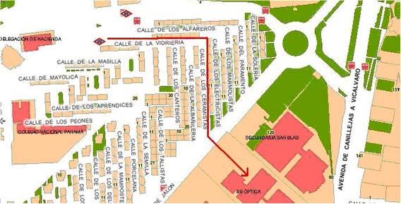 Plano de localización