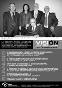 Portada de la revista Visión, nº 33