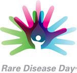 Logo del Dia Mundial de las Enfermedades Raras