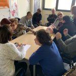 Grupo de participación del taller de memoria.