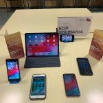 Diferentes modelos de teléfonos móviles y tablet de apple