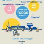 Cartel semana de la movilidad del 16-22 septiembre