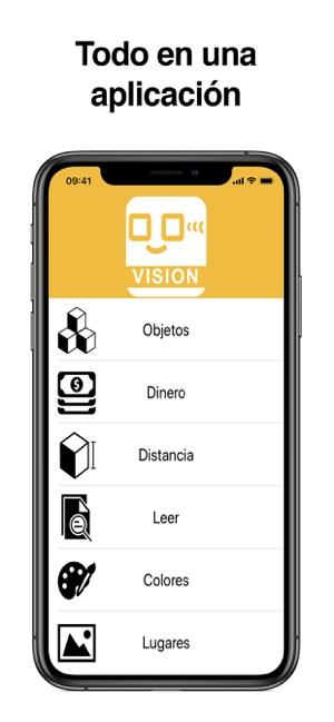 pantalla principal app SpeakLiz Vision