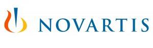 Logotipo del Laboratorio Novartis, colaborador de Es Retina