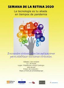 Cartel Jornada sobre tecnología