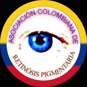 Logo asociación colombiana de retinosis pigmentaria